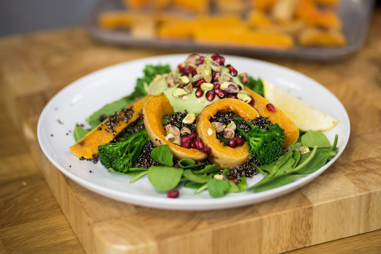 Healthy Meal Swap: Seasonal Butternut Squash and Quinoa