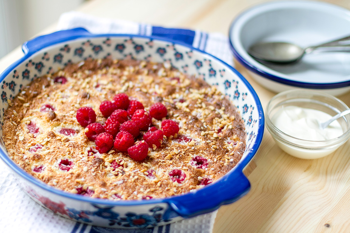 Raspberry Clafoutis Recipe